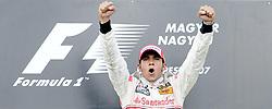 File photo dated 05-08-2007 of Great Britain's McLaren Mercedes Driver Lewis Hamilton