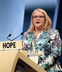 SNP Spring Conference, Sunday 28th April 2019<br /> <br /> Pictured: Christina McKelvie MSP<br /> <br /> Alex Todd | Edinburgh Elite media