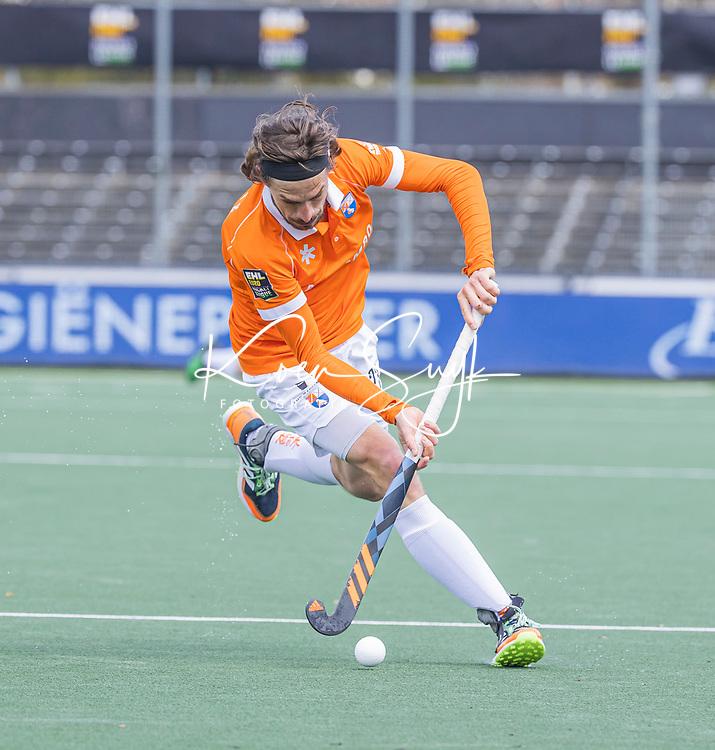 AMSTELVEEN -  Florian Fuchs (Bldaal)    tijdens de Euro Hockey League finale mannen, Atletic Terrassa (Sp) - HC Bloemendaal (2-5).   .COPYRIGHT KOEN SUYK