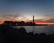 Il faro della città di Bari. Bari, 3 novembre 2013. Christian Mantuano / OneShot