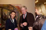 Lady Sarah Chatto and Dr. Len  McComb, Catherine Goodman and David Dawson: 2 London painters-private view. Marlborough. 23 November 2004. ONE TIME USE ONLY - DO NOT ARCHIVE  © Copyright Photograph by Dafydd Jones 66 Stockwell Park Rd. London SW9 0DA Tel 020 7733 0108 www.dafjones.com