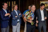 08-10-2017 - Foto van de finaledag van de Dutch Masters 2017, een European Senior Tour Event. Gespeeld op The Dutch in Spijk van 6 t/m 8 oktober.  Prijsuitreiking, Andrew Oldcorn