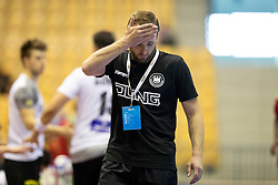 Andre Haber, head coach of Germany during handball match between National teams of Germany and Portugal in game for Third place of 2018 EHF U20 Men's European Championship, on July 29, 2018 in Arena Zlatorog, Celje, Slovenia. Photo by Urban Urbanc / Sportida