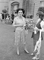 1 July 1971 - Margaret, Duchess of Argyll at a party in London.<br /> <br /> Photo by Desmond O'Neill Features Ltd.  +44(0)1306 731608  www.donfeatures.com
