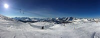 Banff ski trip. Skiing at Sunshine Village.   ©2019 Karen Bobotas Photographer