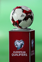 October 5, 2017 - Yerevan, Armenia - The official ball during the FIFA World Cup 2018 qualification football match between Armenia and Poland in Yerevan on October 5, 2017. (Credit Image: © Foto Olimpik/NurPhoto via ZUMA Press)