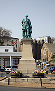 Prince Albert statue, St Peter Port, Guernsey, Channel Islands, UK