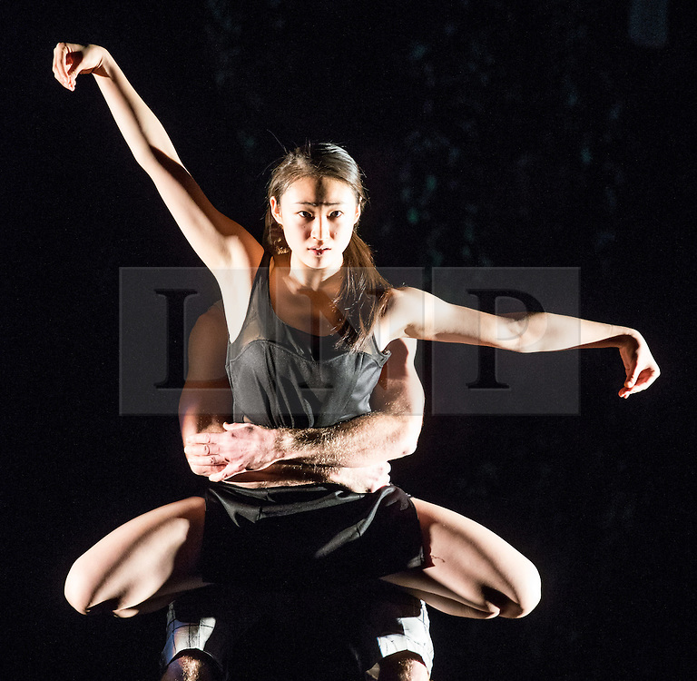 © Licensed to London News Pictures. 12/11/2012. London, UK. Award-winning choreographer and Sadler's Wells Associate Artist, Jasmin Vardimon, presents her new work Freedom this autumn, a dance theatre production, at Sadler's Wells Theatre, London. Picture shows: Kai-Wen Chuang. Photo credit: Tony Nandi/LNP