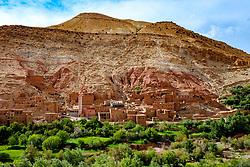 The village of Taïfaste in southern Morocco<br /> <br /> (c) Andrew Wilson   Edinburgh Elite media