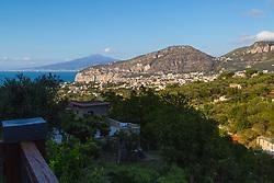 Sorrento, Italy, September 15 2017. A view across Sorrento, Italy. © Paul Davey