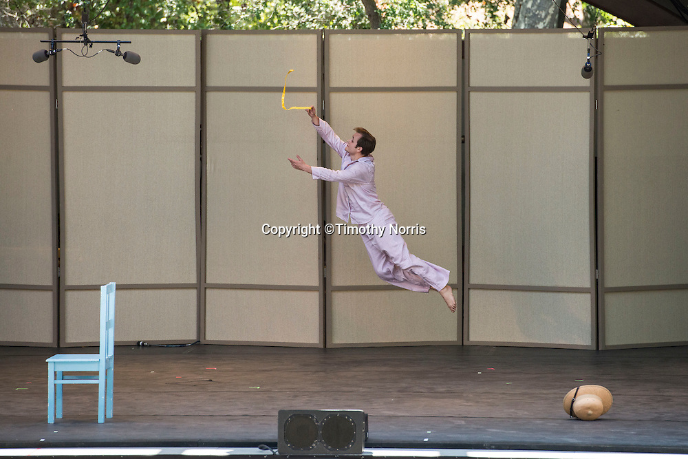 """Dallas McMurray dances """"Ten Suggestions"""" at Libbey Bowl on June 9, 2013 in Ojai, California."""
