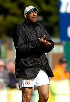 Photo: Richard Lane.<br />Wycombe Wanderers v Lincoln City. Coca Cola League 2. 17/04/2006. <br />Lincoln manager, Keith Alexander.