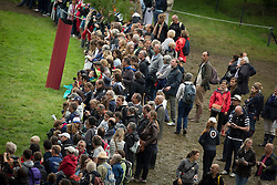 Public - Eventing Cross Country test- Alltech FEI World Equestrian Games™ 2014 - Normandy, France.<br /> © Hippo Foto Team - Dirk Caremans<br /> 30/08/14