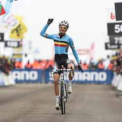 Niels albert World Champion Men Elite cyclocross Koksijde