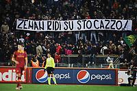 Striscione dei tifosi della Roma<br /> 19/11/2012 Roma<br /> Stadio Olimpico<br /> Football Calcio 2012 / 2013 <br /> Campionato di Calcio Serie A<br /> Roma vs Torino<br /> Foto Insidefoto / Antonietta Baldassarre
