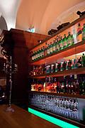 Rathaus / town hall bar, Hamburg, Germany.