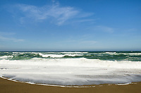 Pacific Ocean surf, Point Reyes Beach, California