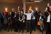 Party to celbrate the publication of ' Walking on Sunshine' 52 Small steps to Happiness' by Rachel Kelly. RSA. London. 9 November 2015