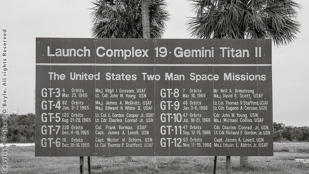 Launch Complex 19, site of the Gemini space program, and where the first Apollo astronauts flew their orbital rocket flights in preparations for the moon missions.