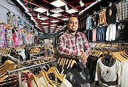 """Guillermo """"Memo"""" Calderon, from Grand Island and owner of Glam, is pictured at the store which is located inside Conestoga Mall in Grand Island. (Independent/Crystal LoGiudice)"""