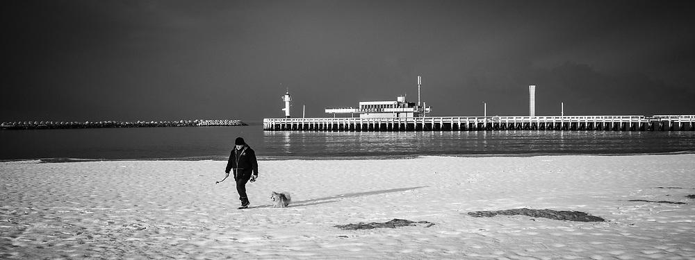 20130116, Oostende, Belgie, Noordzee. PHOTO © Christophe Vander Eecken
