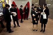 Office employees in a night out in Shinjuku area of Tokyo