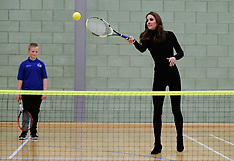 William and Kate get sporty as they visit Coach Core Essex - 30 Oct 2018
