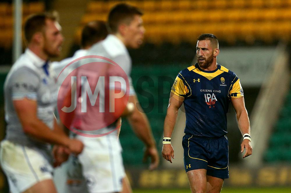 Matt Cox of Worcester Warriors - Mandatory by-line: Robbie Stephenson/JMP - 28/07/2017 - RUGBY - Franklin's Gardens - Northampton, England - Worcester Warriors v Bath Rugby - Singha Premiership Rugby 7s