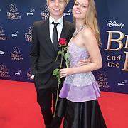NLD/Scheveningen/20151213 - Premiere musical Beauty and the Beast, Robin Zomers en .......