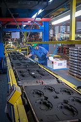 Castertech é fabricante de conjuntos de cubo e tambor e de suportes fundidos de suspensões para ônibus, caminhões e reboques. FOTO: Jefferson Bernardes/ Agência Preview