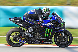 February 6, 2019 - Sepang, SGR, U.S. - SEPANG, SGR - FEBRUARY 06:  Maverick Vinales of Monster Energy Yamaha MotoGP  in action during the first day of the MotoGP official testing session held at Sepang International Circuit in Sepang, Malaysia. (Photo by Hazrin Yeob Men Shah/Icon Sportswire) (Credit Image: © Hazrin Yeob Men Shah/Icon SMI via ZUMA Press)