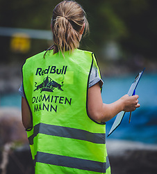 08.09.2018, Lienz, AUT, 31. Red Bull Dolomitenmann 2018, im Bild Streckenposten // marshals during the 31th Red Bull Dolomitenmann. Lienz, Austria on 2018/09/08, EXPA Pictures © 2018, PhotoCredit: EXPA/ Stefanie Oberhauser