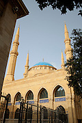 Mohammad Al-Amin Mosque in Martyrs' Square in downtown Beirut, Lebanon