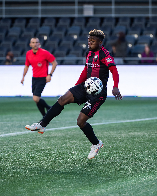 OTTAWA, ON - JUNE 15: USL Championship match between the Ottawa Fury FC and Memphis 901 FC at TD Place Stadium in Ottawa, ON. Canada on June 15, 2019.<br /> <br /> PHOTO: Steve Kingsman/Freestyle Photography for Ottawa Fury FC