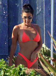 Kourtney Kardashian struts her stuff while on vacation in Cabo. 26 Aug 2018 Pictured: Kourntye Kardashian. Photo credit: Clasos/MEGA TheMegaAgency.com +1 888 505 6342