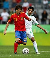 Fotball<br /> Spania v Saudi Arabia<br /> Innsbruck Østerrike<br /> Foto: Gepa/Digitalsport<br /> NORWAY ONLY<br /> <br /> FIFA Weltmeisterschaft 2010 in Suedafrika, Vorberichte, Vorbereitung, Vorbereitungsspiel, Freundschaftsspiel, Laenderspiel, Spanien vs Saudi Arabien. <br /> <br /> Bild zeigt David Silva (ESP