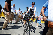 Christopher Froome (GBR - Team Sky) during the Tour de France 2018, Stage 4, Team Time Trial, La Baule - Sarzeau (195 km) on July 10th, 2018 - Photo Luca Bettini / BettiniPhoto / ProSportsImages / DPPI