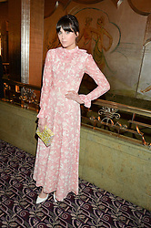 LILAH PARSONS at the WGSN Global Fashion Awards 2015 held at The Park Lane Hotel, Piccadilly, London on 14th May 2015.