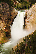 Falls in Yellowstone National Park