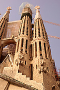 Barcelona, Spain Salgrada Familia, Architect Antoni Gaudi, Barcelona, Spain