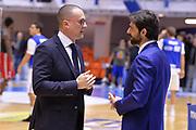 Maffezzoli Massimo, Morea Alberto<br /> Happycasa Brindisi - Sidigas Avellino<br /> Legabasket serieA  2018-2019<br /> Brindisi ,05/01/2019<br /> Foto Ciamillo-Castoria / Michele Longo