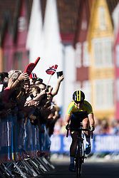 September 23, 2017 - Bergen, NORWAY - 170923 Sara Penton of Sweden competes during the Women Elite Road Race on September 23, 2017 in Bergen..Photo: Jon Olav Nesvold / BILDBYRN / kod JE / 160028 (Credit Image: © Jon Olav Nesvold/Bildbyran via ZUMA Wire)