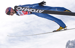 Michael Neumayer of Germany competes during Flying Hill Individual Qualifications at 1st day of FIS Ski Flying World Championsghips Planica 2010, on March 18, 2010, Planica, Slovenia.  (Photo by Vid Ponikvar / Sportida)