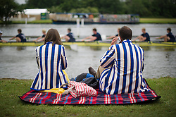 © London News Pictures. 03/07/2013. Henley-on-Thames, UK. Day one of Henley Royal Regatta on the River Thames at Henley-on-Thames, Oxfordshire on July 03, 2013. Photo credit: Ben Cawthra/LNP