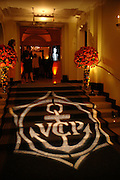 Branding. Veuve Cliguot Business Woman of The Year award. Claridge's,  London W1. 28  April 2005. ONE TIME USE ONLY - DO NOT ARCHIVE  © Copyright Photograph by Dafydd Jones 66 Stockwell Park Rd. London SW9 0DA Tel 020 7733 0108 www.dafjones.com