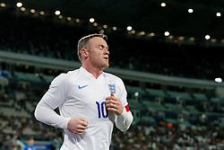 Wayne Rooney of England looks frustrated - Photo mandatory by-line: Rogan Thomson/JMP - 07966 386802 - 31/03/2015 - SPORT - FOOTBALL - Turin, Italy - Juventus Stadium - Italy v England - FIFA International Friendly Match.