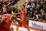 DESCRIZIONE : Pistoia Lega serie A 2013/14 Giorgio Tesi Group Pistoia Victoria Libertas Pesaro<br /> GIOCATORE : Musso Bernardo<br /> CATEGORIA : passaggio <br /> SQUADRA : Victoria Libertas Pesaro <br /> EVENTO : Campionato Lega Serie A 2013-2014<br /> GARA : Giorgio Tesi Group Pistoia Victoria Libertas Pesaro<br /> DATA : 24/11/2013<br /> SPORT : Pallacanestro<br /> AUTORE : Agenzia Ciamillo-Castoria/GiulioCiamillo<br /> Galleria : Lega Seria A 2013-2014<br /> Fotonotizia : Pistoia Lega serie A 2013/14 Giorgio Tesi Group Pistoia Victoria Libertas Pesaro<br /> Predefinita :