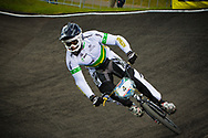 #4 (DEAN Anthony) AUS at the UCI BMX Supercross World Cup in Papendal, Netherlands.