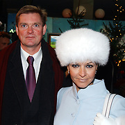 Kerstborrel Princess 2004, Marisca van Kolck en man Knut Jacobsen
