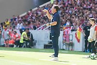 Sevilla's coach Eduardo Berizzo during La Liga match between Atletico de Madrid and Sevilla FC at Wanda Metropolitano Stadium in Madrid, Spain September 23, 2017. (ALTERPHOTOS/Borja B.Hojas)